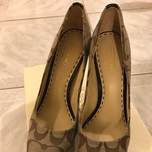 Coach shoes brand new size 7.5